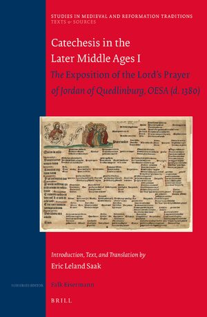 Cover Catechesis in the Later Middle Ages I