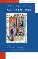 Cover A Companion to John of Salisbury