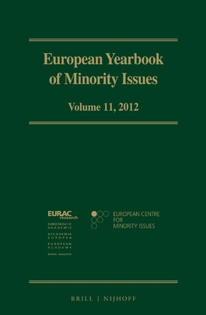 Cover European Yearbook of Minority Issues, Volume 11 (2012)