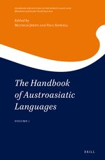 Cover The Handbook of Austroasiatic Languages (2 vols)