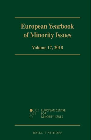 Cover European Yearbook of Minority Issues, Volume 17 (2018)