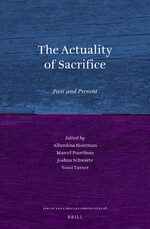 Cover The Actuality of Sacrifice