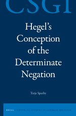 Hegel's Conception of the Determinate Negation