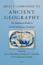 Cover Brill's Companion to Ancient Geography