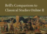 Cover Brill's Companions to Classical Studies Online II