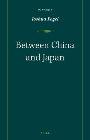 Cover Between China and Japan