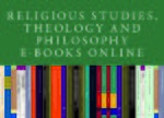 Cover Religious Studies, Theology and Philosophy E-Books Online, Collection 2015