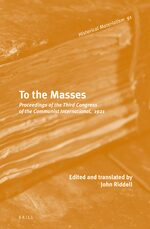 Cover To the Masses