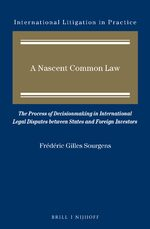 A Nascent Common Law