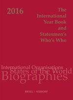 The International Year Book and Statesmen's Who's Who 2016