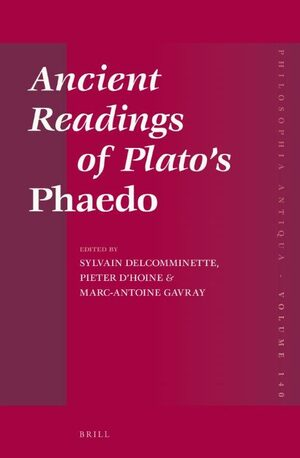 Cover Ancient Readings of Plato's <i>Phaedo</i>