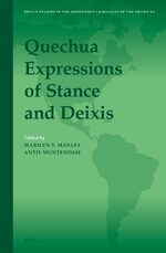 Cover Quechua Expressions of Stance and Deixis