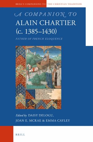 Cover A Companion to Alain Chartier (c.1385-1430)