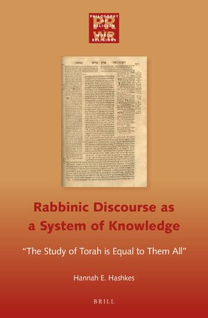 Cover Rabbinic Discourse as a System of Knowledge