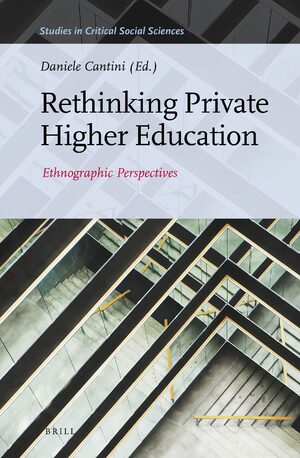 Cover Rethinking Private Higher Education