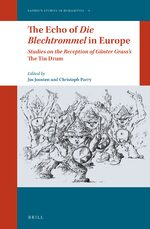 Cover The Echo of <i>Die Blechtrommel</i> in Europe