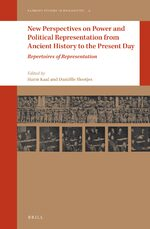 Cover New Perspectives on Power and Political Representation from Ancient History to the Present Day