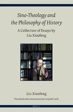 Cover Sino-Theology and the Philosophy of History