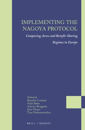 Cover Implementing the Nagoya Protocol