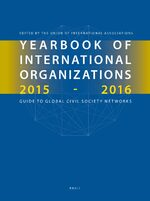 Yearbook of International Organizations 2015-2016, Volumes 1A & 1B (SET)