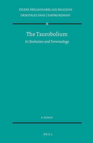 Cover The Taurobolium