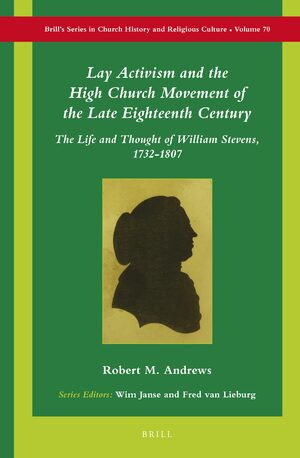 Cover Lay Activism and the High Church Movement of the Late Eighteenth Century