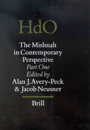 Cover The Mishnah in Contemporary Perspective