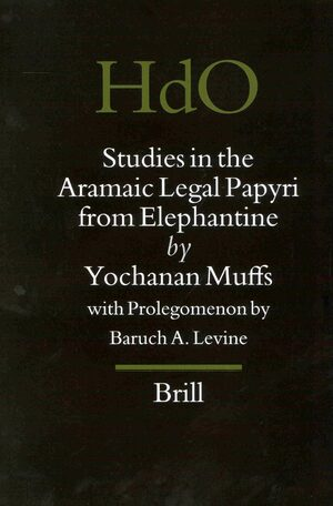 Cover Studies in the Aramaic Legal Papyri from Elephantine