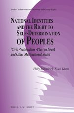 Cover National Identities and the Right to Self-Determination of Peoples