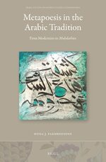 Cover Metapoesis in the Arabic Tradition