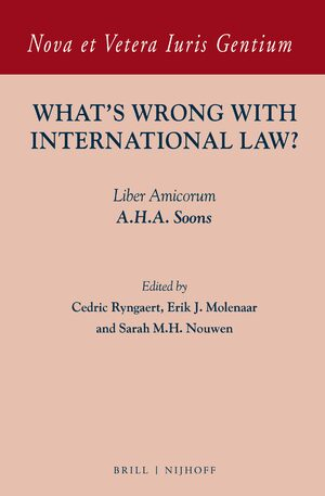 Cover What's Wrong with International Law?