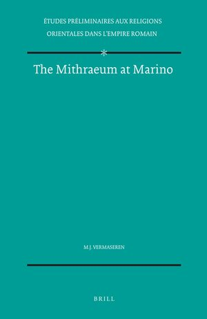 Cover The Mithraeum at Marino
