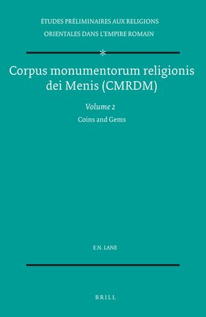 Cover Corpus monumentorum religionis dei Menis (CMRDM), Volume 2 Coins and Gems