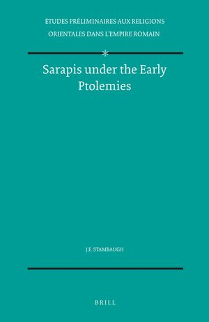Cover Sarapis under the Early Ptolemies