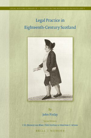 Cover Legal Practice in Eighteenth-Century Scotland
