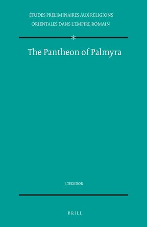 Cover The Pantheon of Palmyra