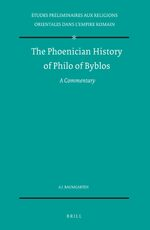 Cover The Phoenician History of Philo of Byblos