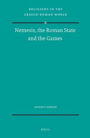 Cover Nemesis, the Roman State and the Games