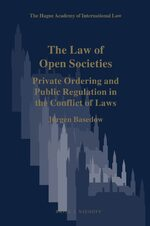 Cover The Law of Open Societies