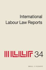 Cover International Labour Law Reports, Volume 34