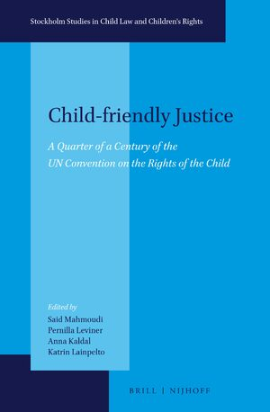 Cover Child-friendly Justice