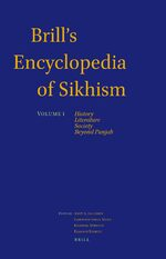 Cover Brill's Encyclopedia of Sikhism, Volume 1