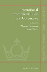 Cover International Environmental Law and Governance