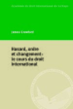 Cover Hasard, ordre et changement