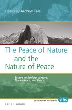 Cover The Peace of Nature and the Nature of Peace