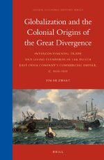 Cover Globalization and the Colonial Origins of the Great Divergence