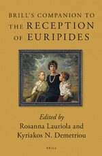 Cover Brill's Companion to the Reception of Euripides