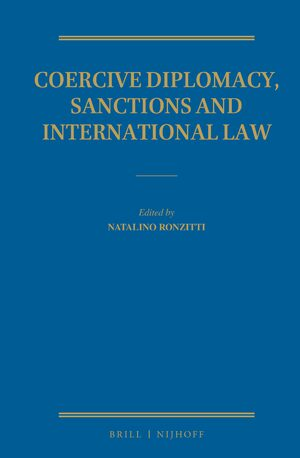 Cover Coercive Diplomacy, Sanctions and International Law