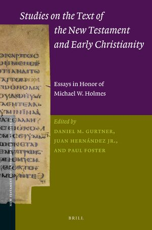 Cover Studies on the Text of the New Testament and Early Christianity