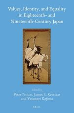 Cover Values, Identity, and Equality in Eighteenth- and Nineteenth-Century Japan